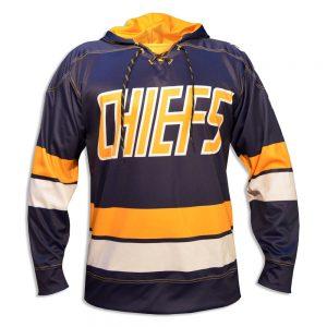 SH200-slapshot movie charlestown chiefs hoodie