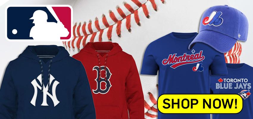 MLB Major League Baseball Apparel
