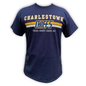 CHARLESTOWN CHIEFS SlapShot movie T-shirt