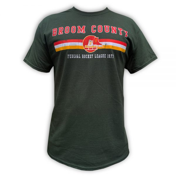 BROOM COUNTY BLADES Federal League T-shirt