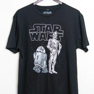 Star Wars - R2D2 & C3P0 T-shirt